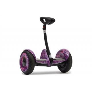 Мини сигвей Mini Robot Розовый космос