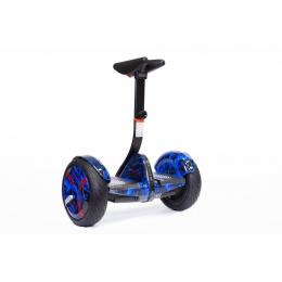 Мини сигвей Mini Robot Синий огонь