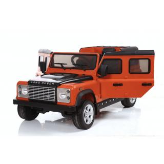 Land Rover Defender оранжевый